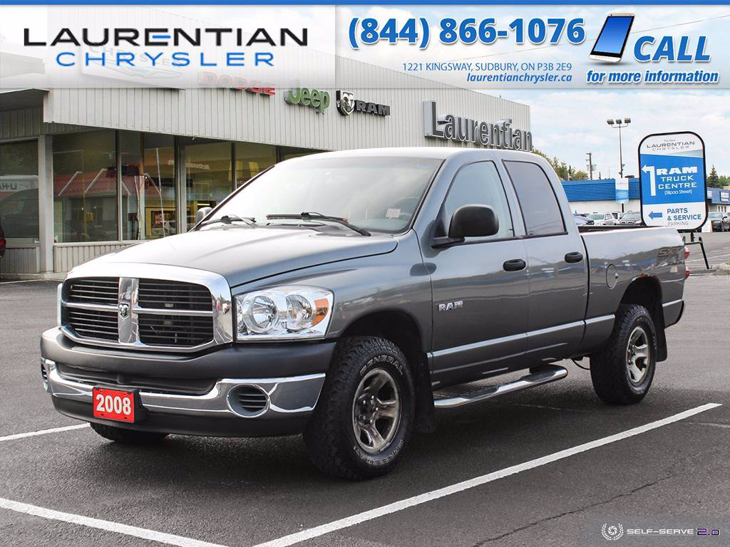 Pre-Owned 2008 Dodge Ram 1500 ST!! SELF CERTIFY!!