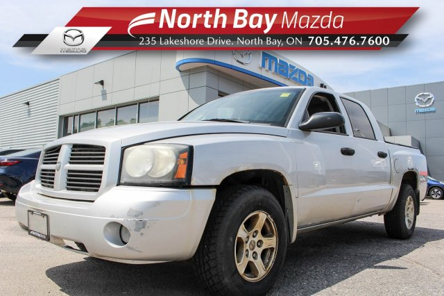 Pre-Owned 2007 Dodge Dakota ST Self Certify 4X4, Crew Cab, Locally Owned