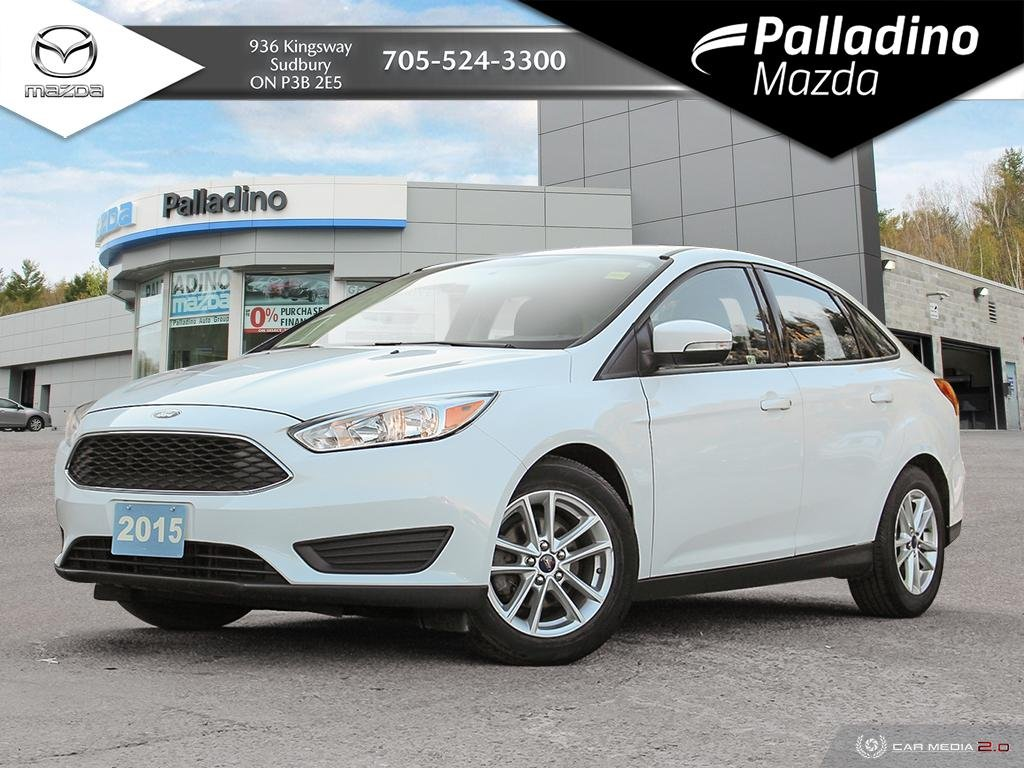 Pre-Owned 2015 Ford Focus SE - LOW MILEAGE - GREAT ON GAS