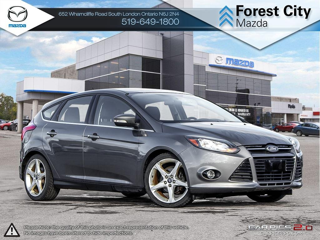 Pre-Owned 2014 Ford Focus | Titanium | Heated Seats | Cruise | Bluetooth