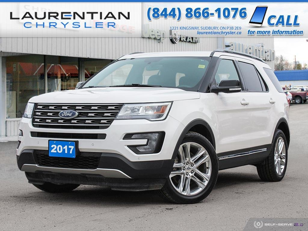 Pre-Owned 2017 Ford Explorer XLT - THIRD ROW SEATS, BACK-UP CAM, DUAL SUNROOF, NAV!!!
