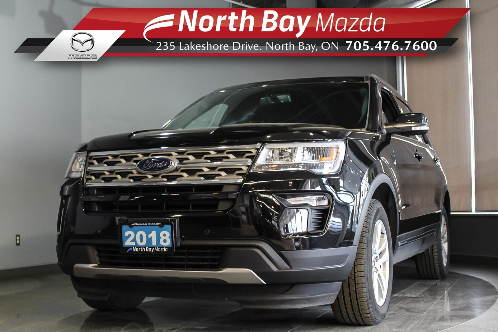 Pre-Owned 2018 Ford Explorer XLT AWD 7 Passenger with Heated Seats, Bluetooth, Cruise