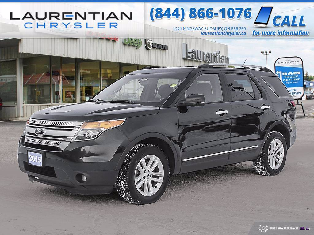 Pre-Owned 2015 Ford Explorer XLT - CHECK OUT THIS AWD SUV WITH NAV!!