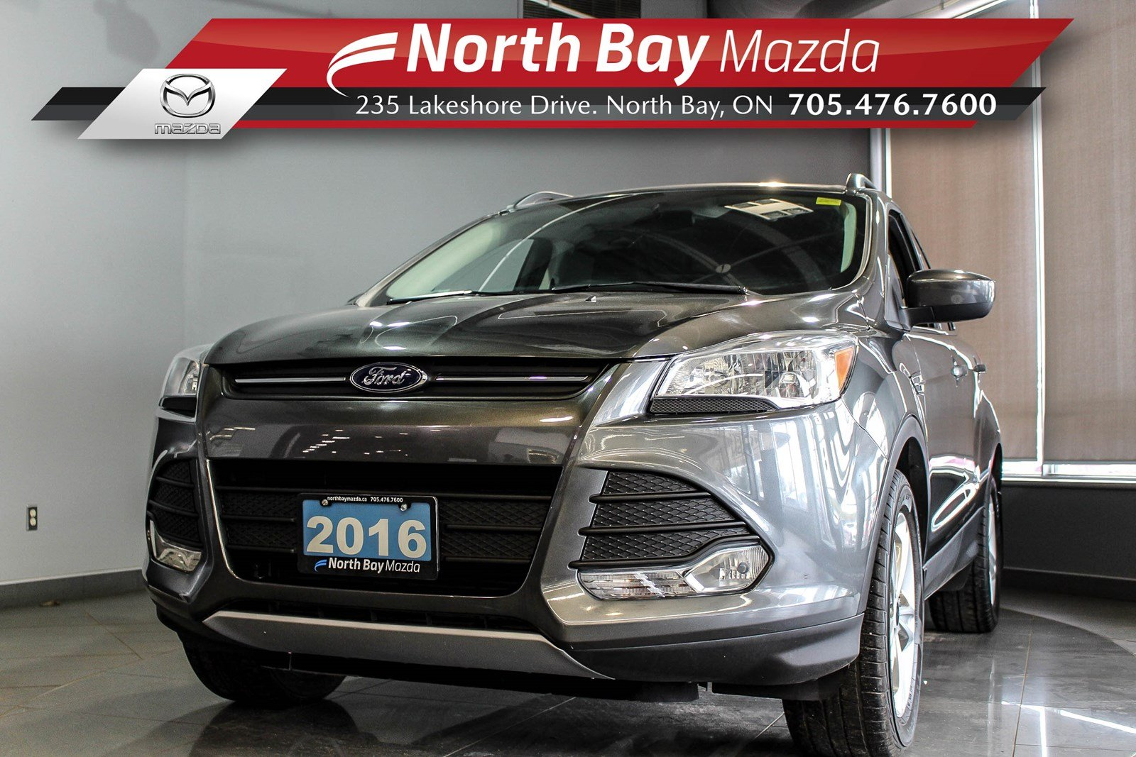 Pre-Owned 2016 Ford Escape SE FWD with Bluetooth, Heated Seats, Cruise