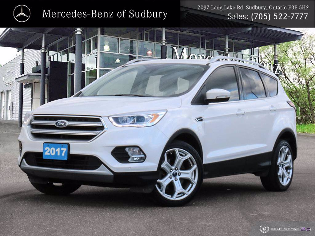 Pre-Owned 2017 Ford Escape Titanium - PRICED 1 OF 79 IN ONTARIO - FULLY LOADED