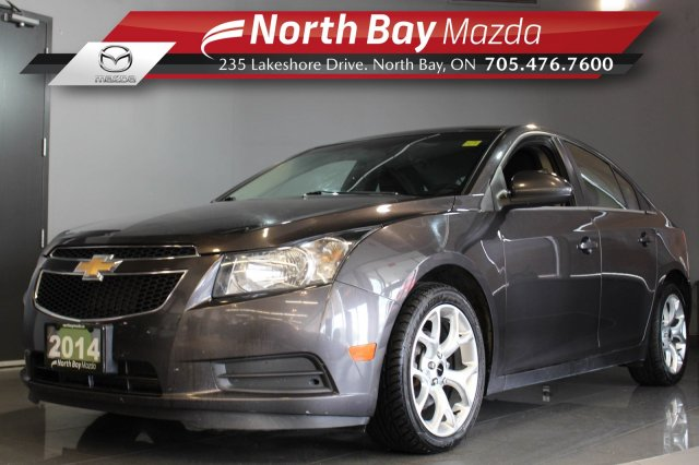 Pre-Owned 2014 Chevrolet Cruze 1LT Turbo with Bluetooth, Cruise, Cloth Interior