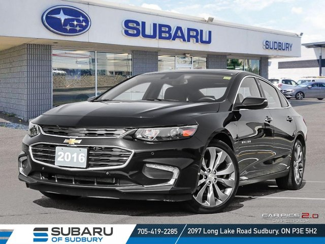 Pre-Owned 2016 Chevrolet Malibu Premier - !**FREE WINTER TIRES**!
