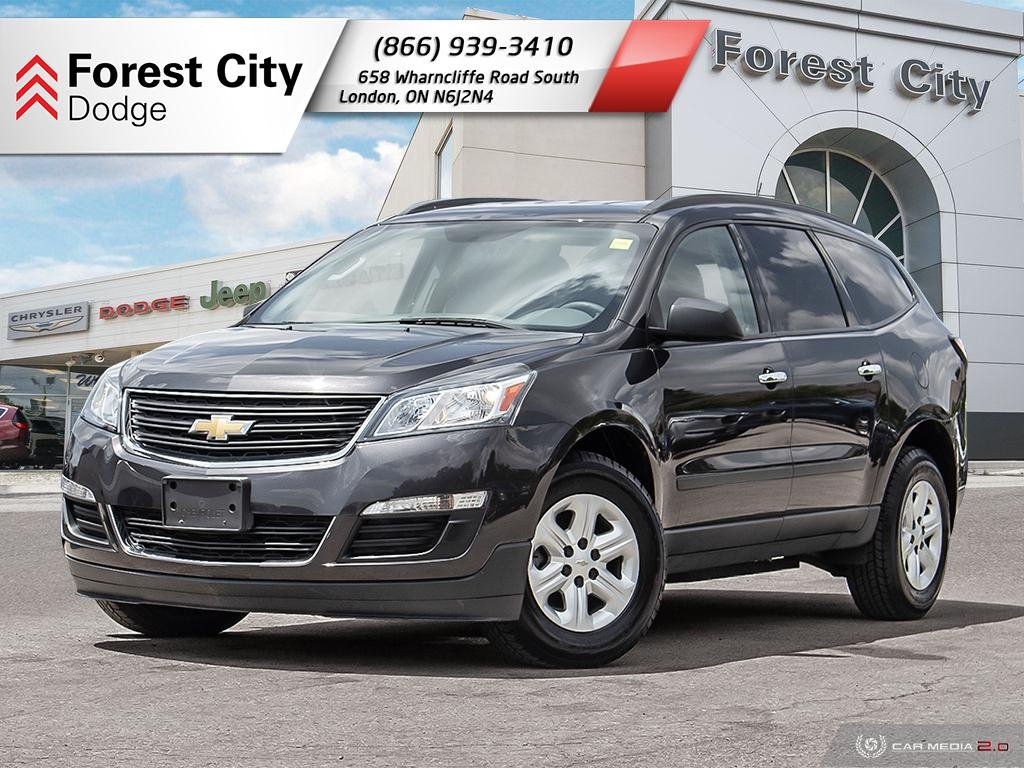 Pre-Owned 2016 Chevrolet Traverse LS | Back-up Cam | NAV |