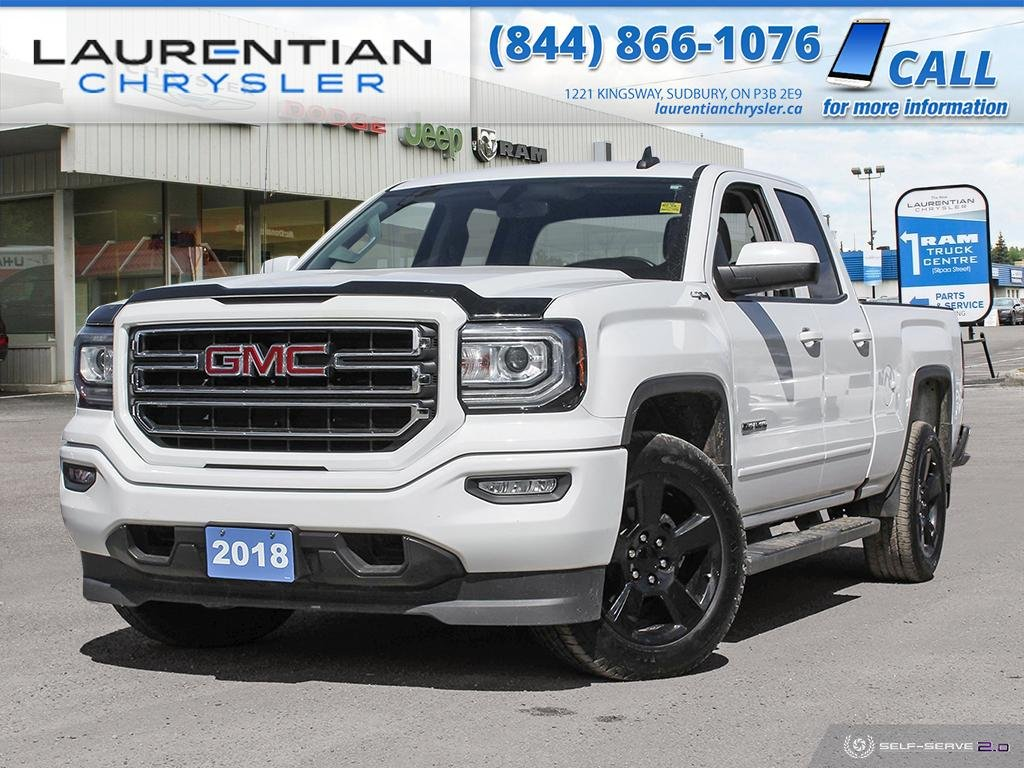 Pre-Owned 2018 GMC Sierra 1500 BLUETOOTH, BACK-UP CAMERA, TOW PACKAGE!!!