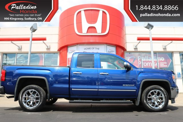 Pre-Owned 2014 GMC Sierra 1500 SLT-LOW MILES,LEATHER,BACKUP CAMERA