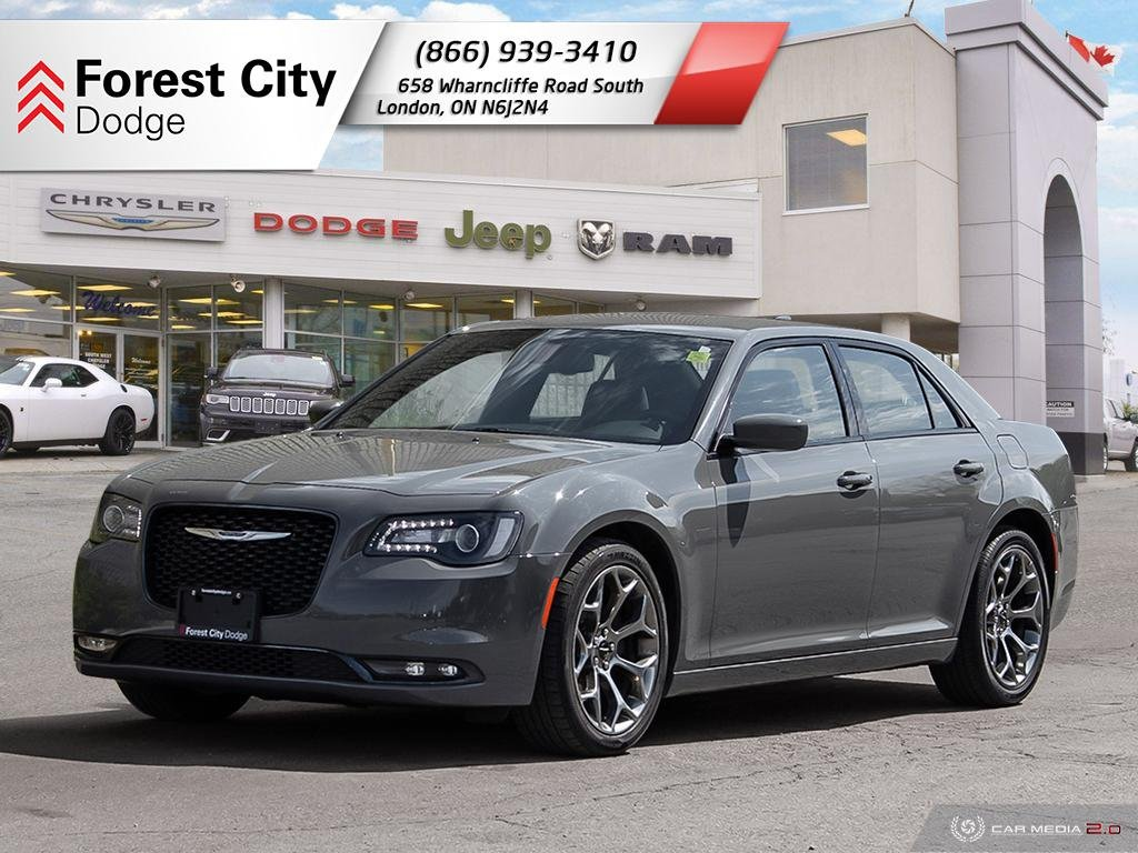 Pre-Owned 2018 Chrysler 300 300S | LEATHER INTERIOR | BACKUP CAM | NAV