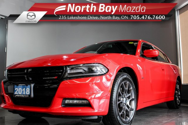 Pre-Owned 2018 Dodge Charger GT AWD with Cloth, Bluetooth, Cruise Control!  AWD