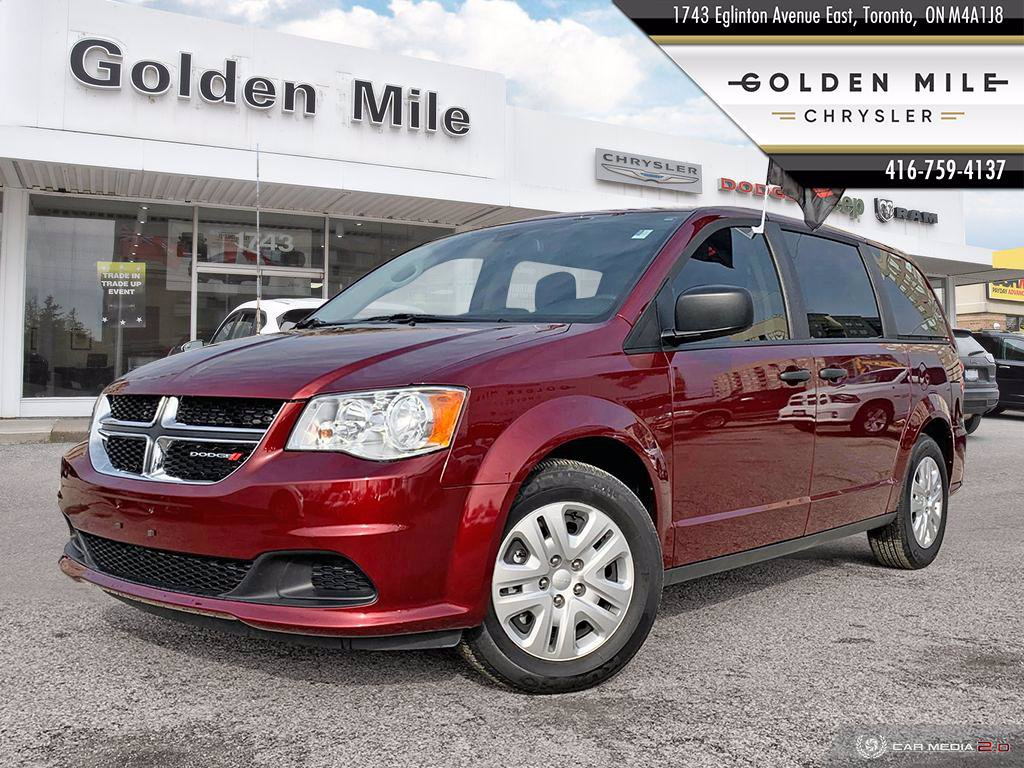Pre-Owned 2019 Dodge Grand Caravan CVP|ONE OWNER|LOW KM
