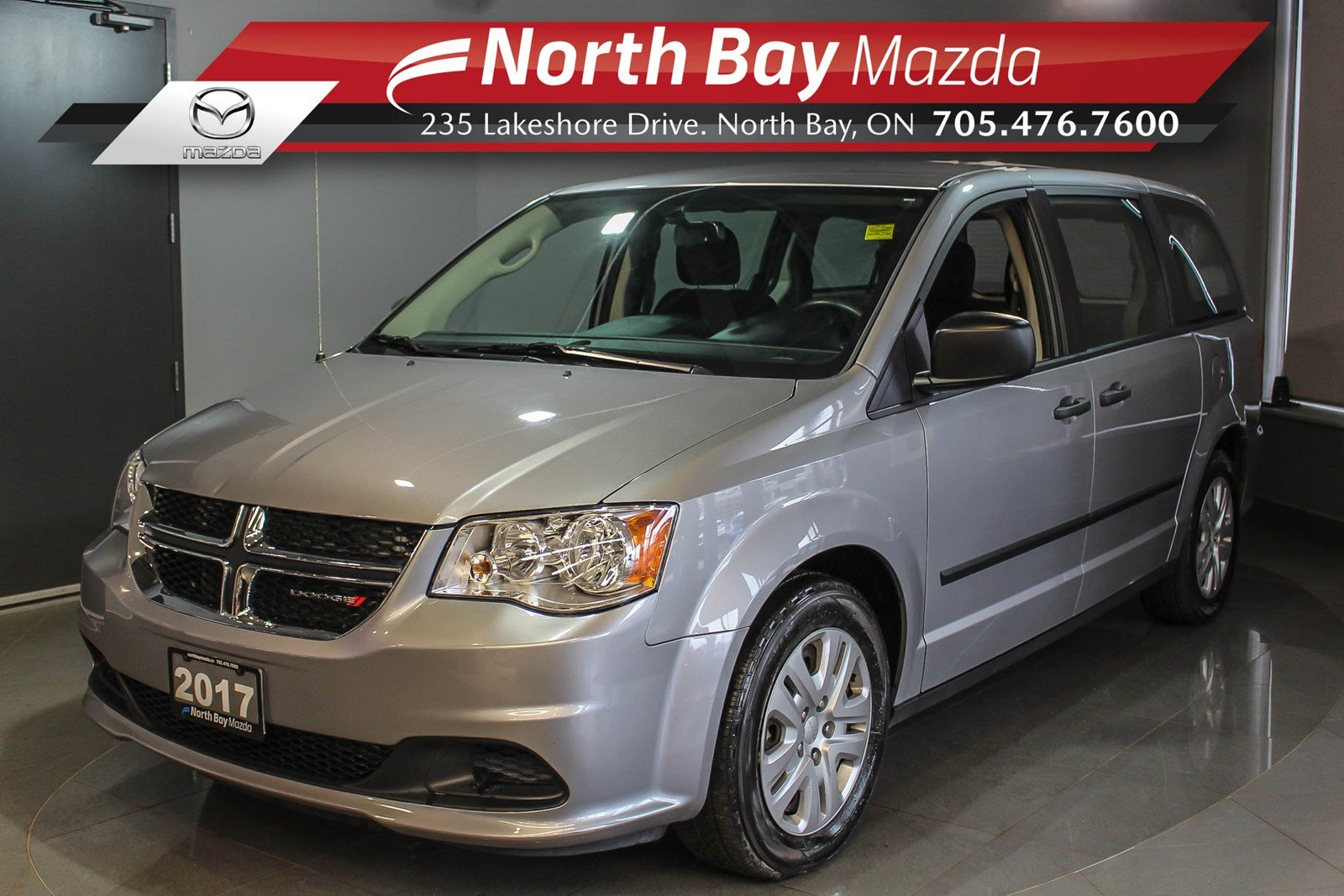 Pre-Owned 2017 Dodge Grand Caravan with Sto'N Go, Eco Mode, Cruise