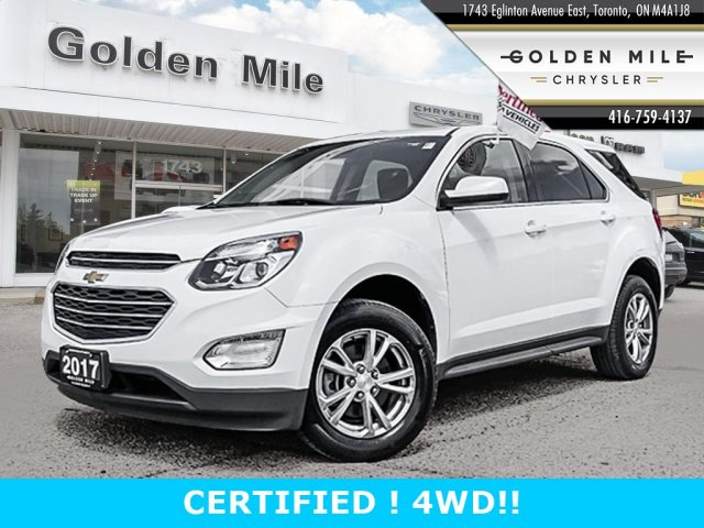 Pre-Owned 2017 Chevrolet Equinox LT 2 awd