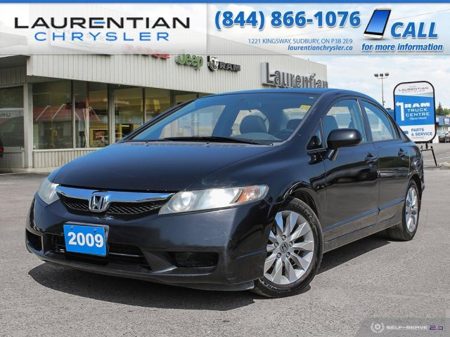 Pre-Owned 2009 Honda Civic Sdn EX-L - SELF CERTIFY!