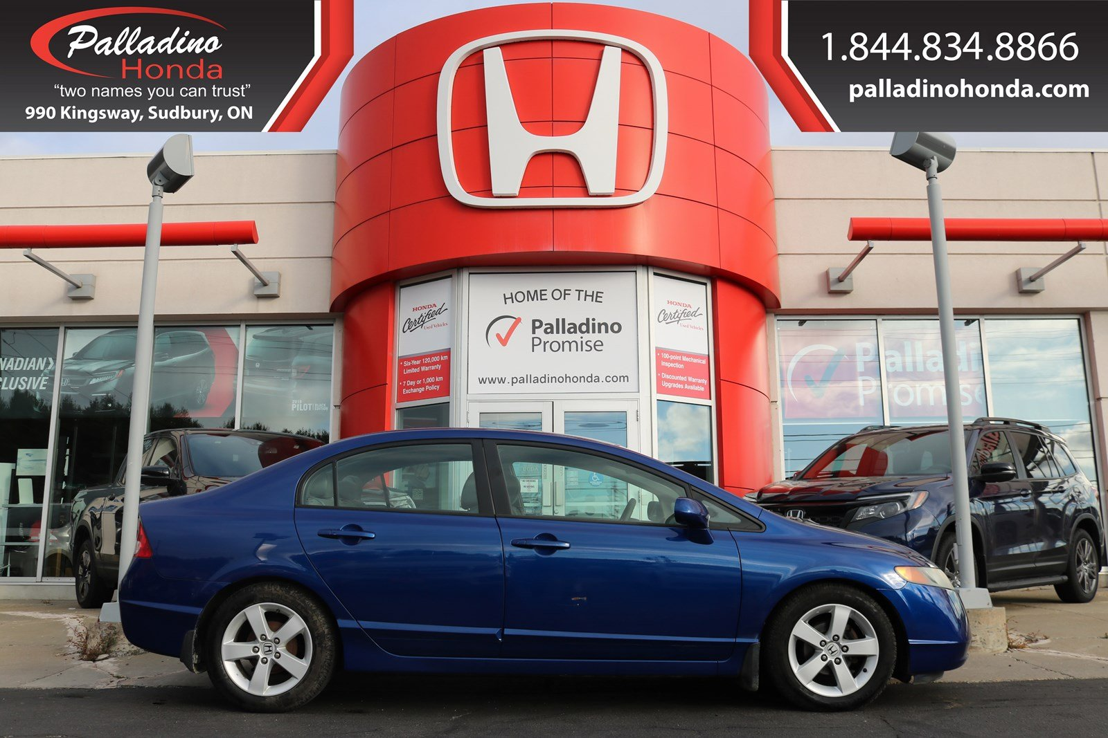 Pre-Owned 2006 Honda Civic Sdn LX-SELF CERTIFY