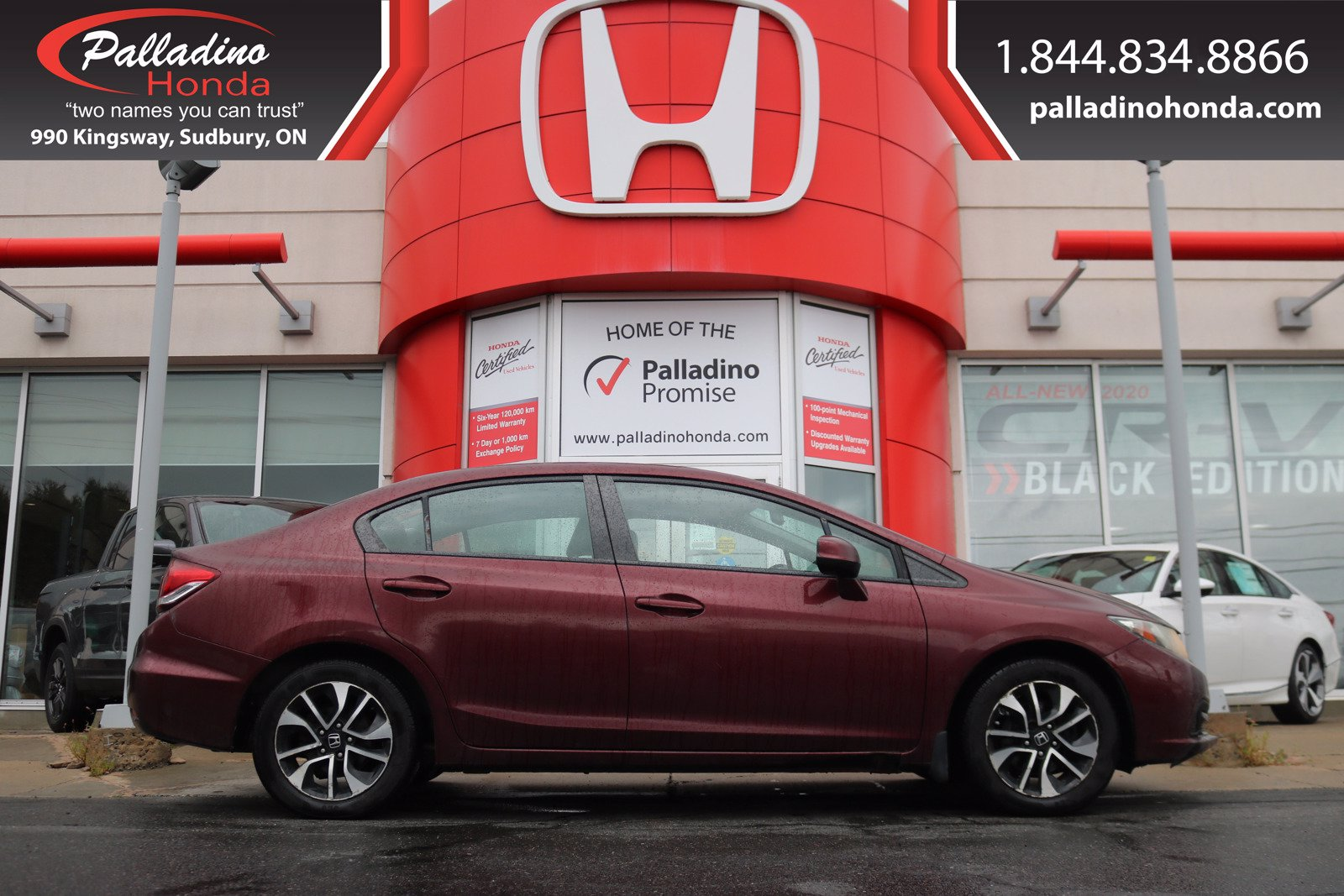 Pre-Owned 2013 Honda Civic Sdn EX-AS-IS