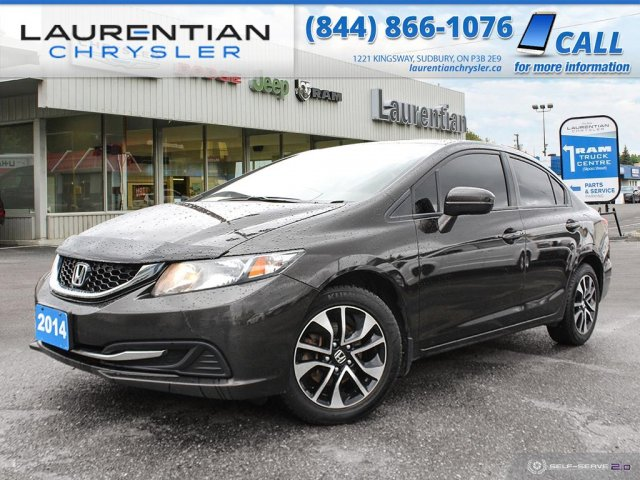 Pre-Owned 2014 Honda Civic Sedan EX - CARVE THE URBAN CORNERS IN THIS  SPORTY COMPACT SEDAN !! FWD 4dr Car