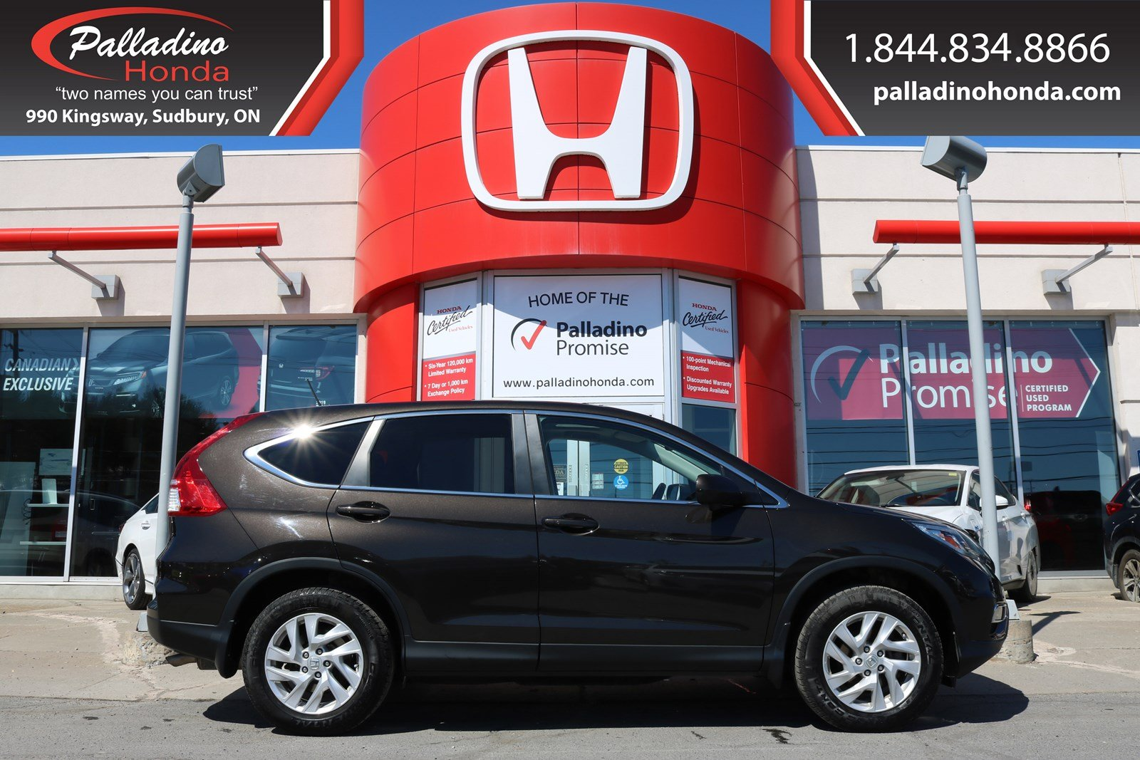Pre-Owned 2016 Honda CR-V EX-ALL WHEEL DRIVE,SMART DEVICE INTEGRATION,BACKUP CAMERA