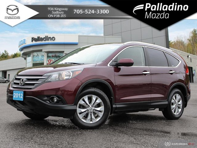 Pre-Owned 2012 Honda CR-V Touring - CLEAN CARFAX - ONE OWNER - CERTIFIED