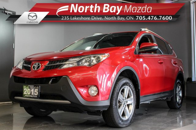 Pre-Owned 2015 Toyota Rav4 XLE with AWD, Bluetooth, Sunroof, Cruise