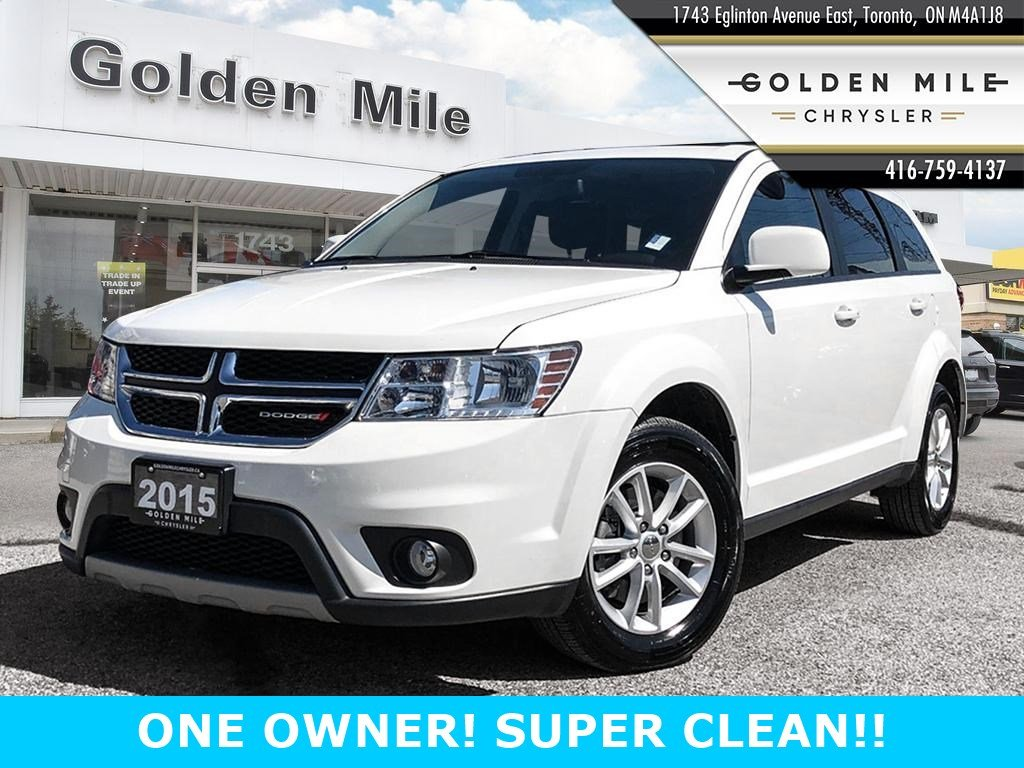 Certified Pre-Owned 2015 Dodge Journey SXT super clean!!