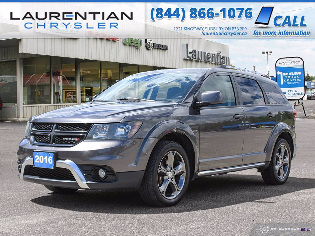 Pre-Owned 2016 Dodge Journey Crossroad!! HEATED SEATS!! BLUETOOTH!!