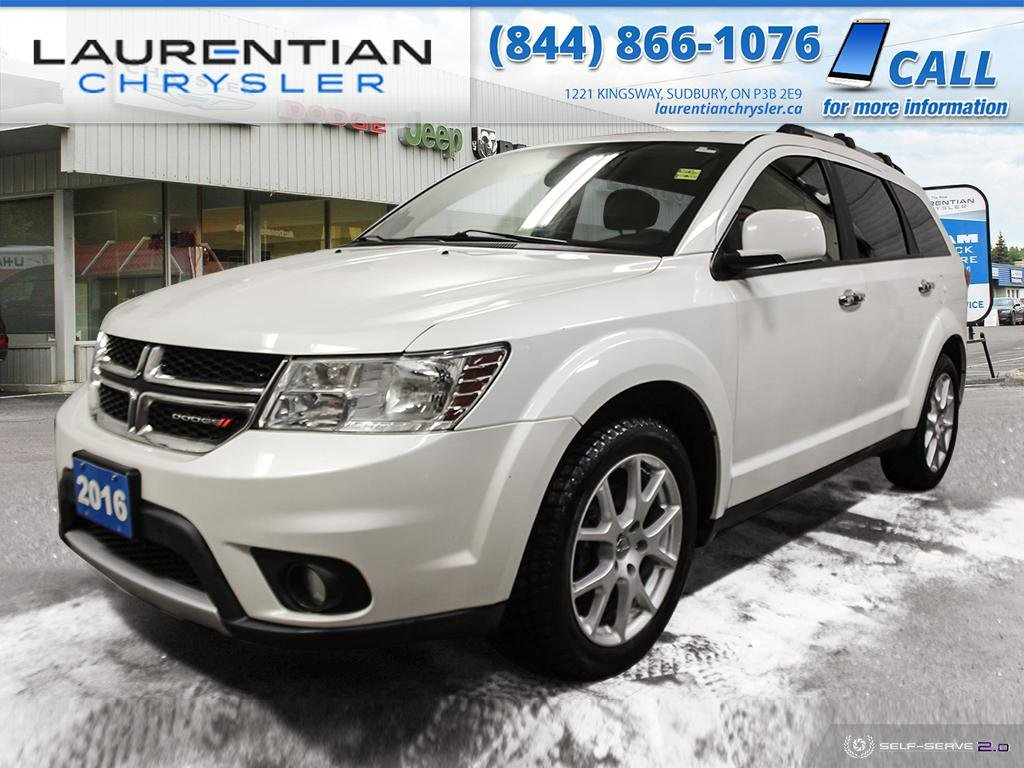 Pre-Owned 2016 Dodge Journey R/T!! AWD!! HEATED SEATS!! NAVIGATION!!