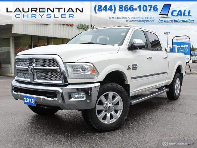 Pre-Owned 2016 Ram 2500 Longhorn - RAM CAPABILITY WITH RAM LUXURY, A PERFECT FIT !!