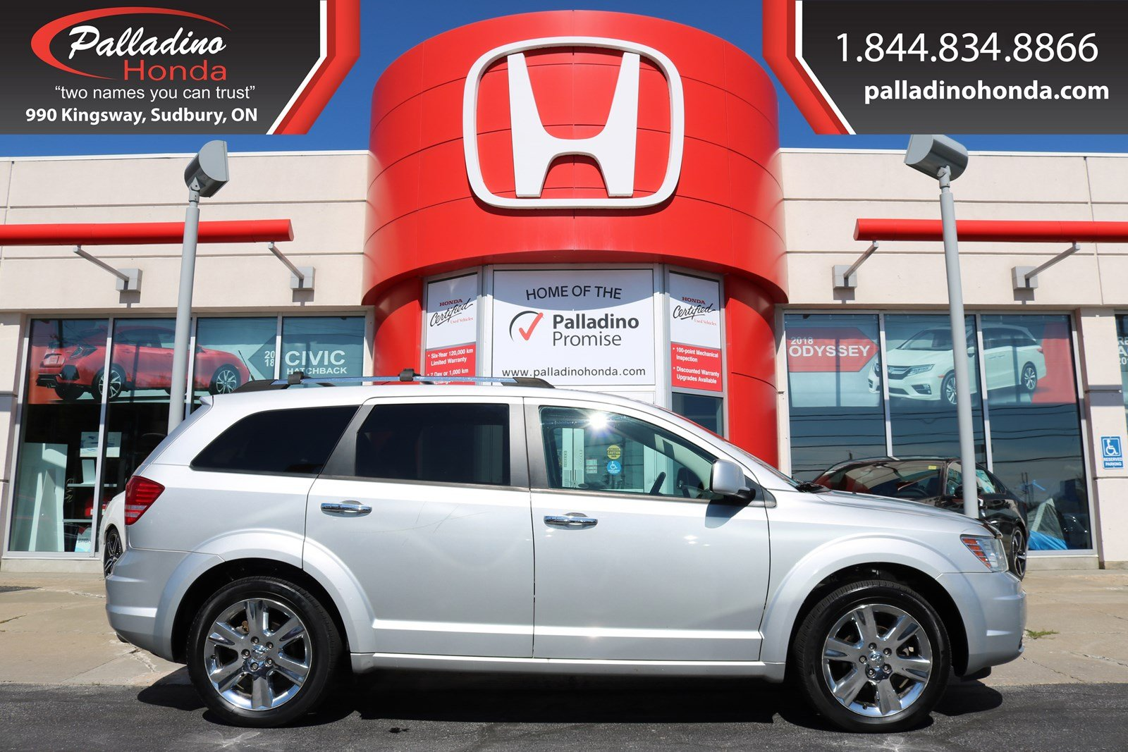 Pre-Owned 2010 Dodge Journey R/T - SELF CERTIFY -