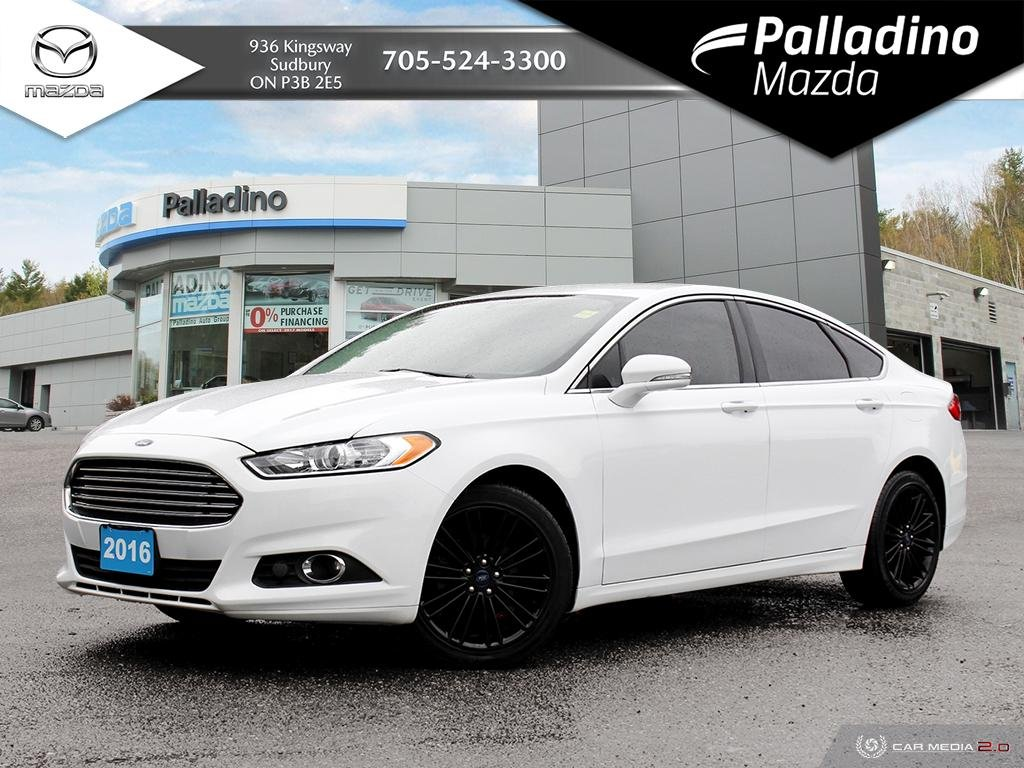 Pre Owned 2016 Ford Fusion Se Low Mileage Two Sets Of Tires On