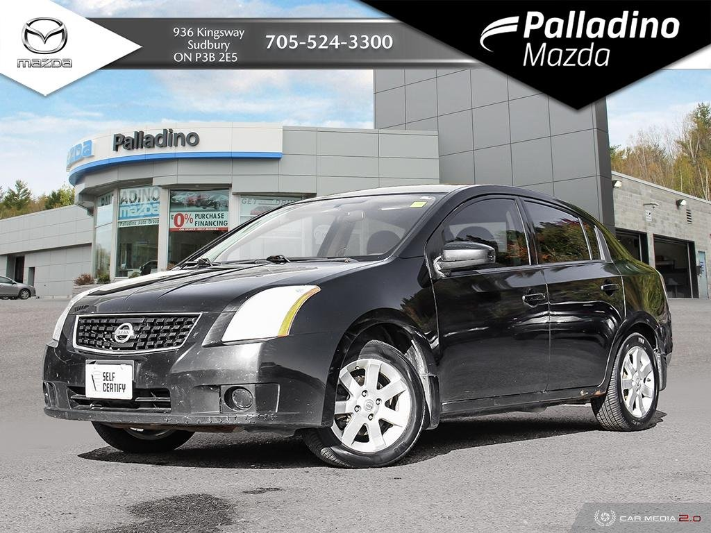 Pre-Owned 2008 Nissan Sentra SELF CERTIFY
