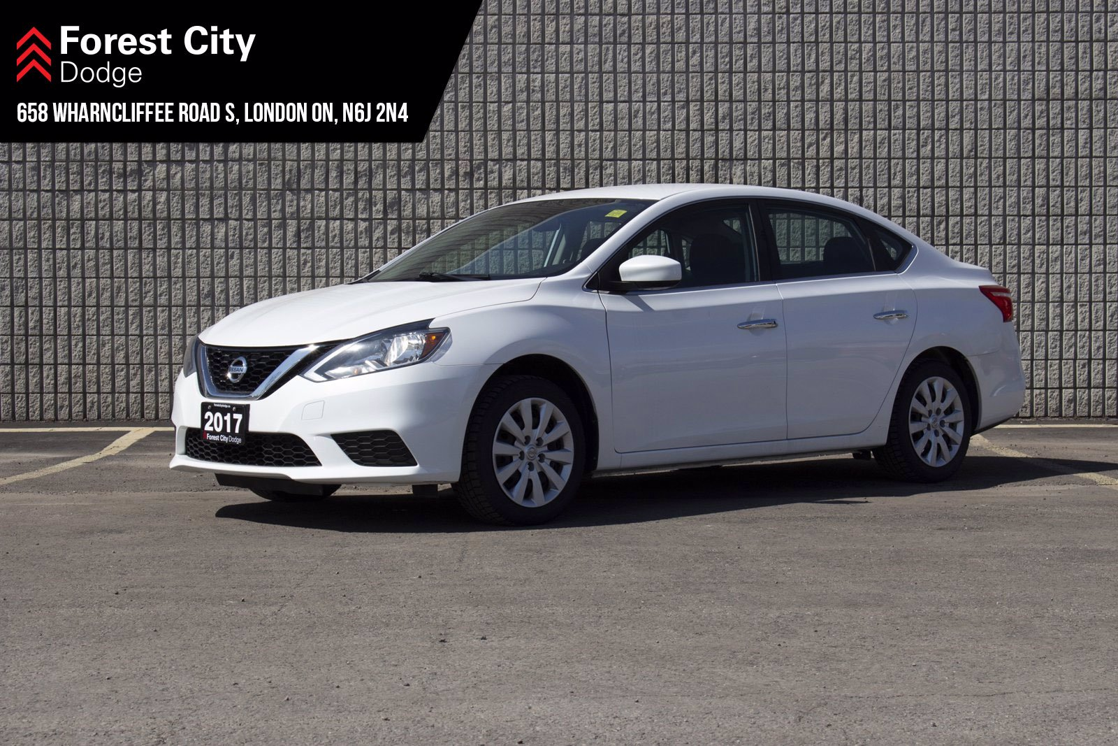 Pre-Owned 2017 Nissan Sentra AUTOMATIC | AIR CONDITIONING | POWER WINDOWS | POWER LOCKS | FWD