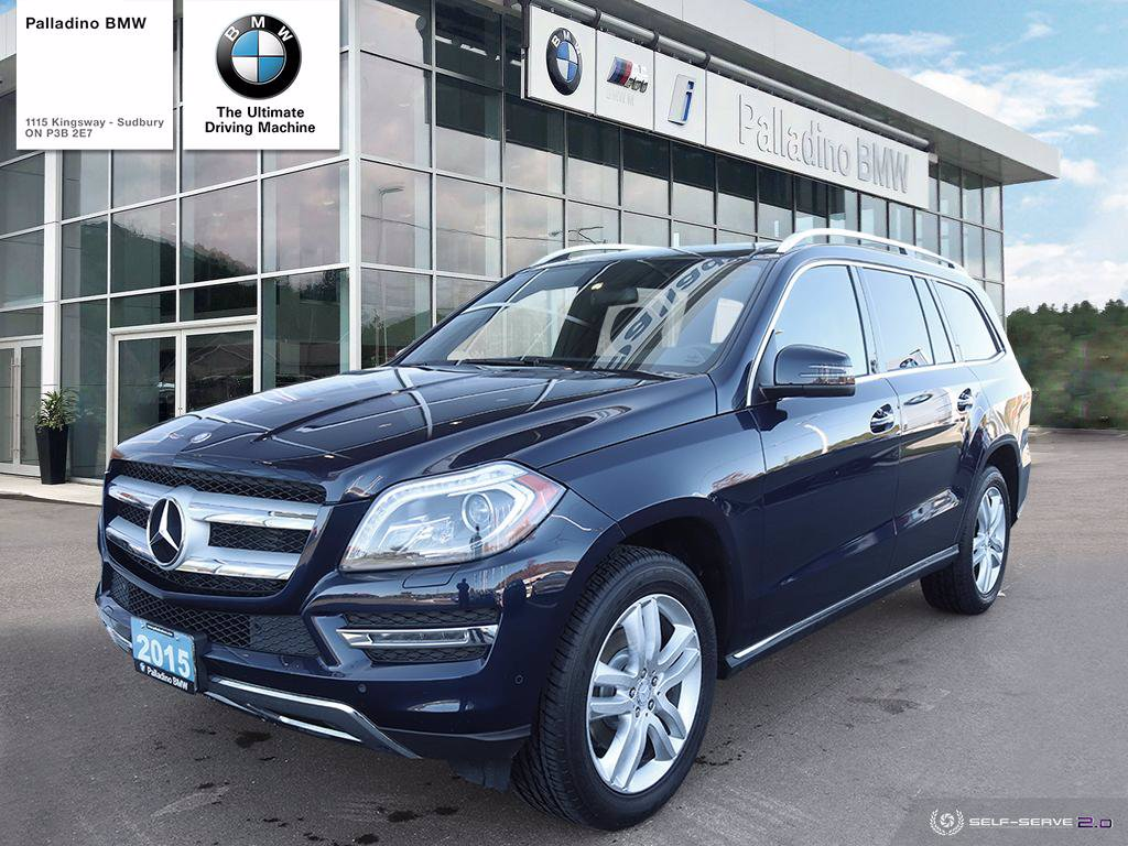Pre-Owned 2015 Mercedes-Benz GL-Class GL 350 BlueTEC - NAV, DUAL ZONE CLIMATE, SUNROOF