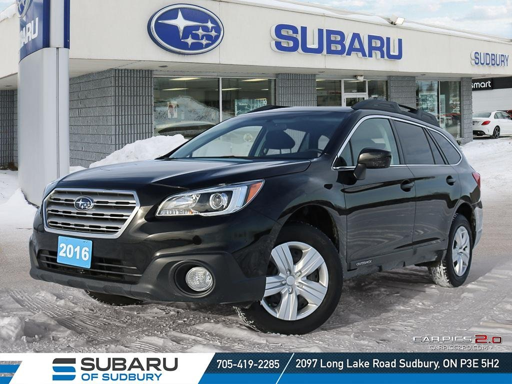 Pre Owned 2016 Subaru Outback 2 5i Iihs Top Safety Pick Highest
