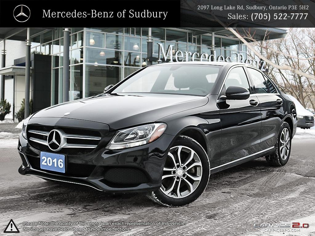 Certified Pre Owned 2016 Mercedes Benz C Cl C300 4matic Sedan