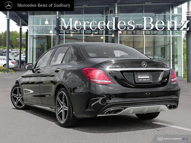 Certified Pre-Owned 2017 Mercedes-Benz C-Class C43 AMG 4MATIC Sedan AWD