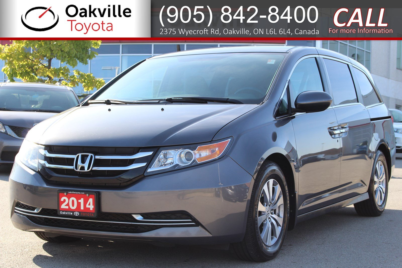 Pre-Owned 2014 Honda Odyssey EX with Clean Carfax and One Owner