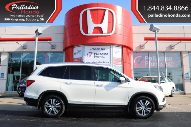 Pre-Owned 2016 Honda Pilot EX-L - CLEAN CARFAX - THIRD ROW SEATS - BLUETOOTH