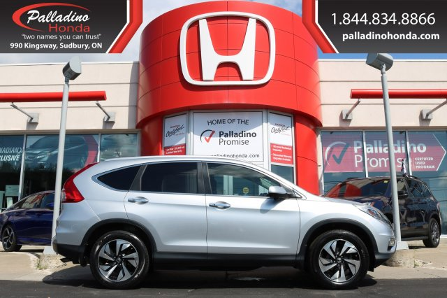 Pre-Owned 2015 Honda CR-V Touring-ALL WHEEL DRIVE,NAVIGATION,BACKUP CAMERA