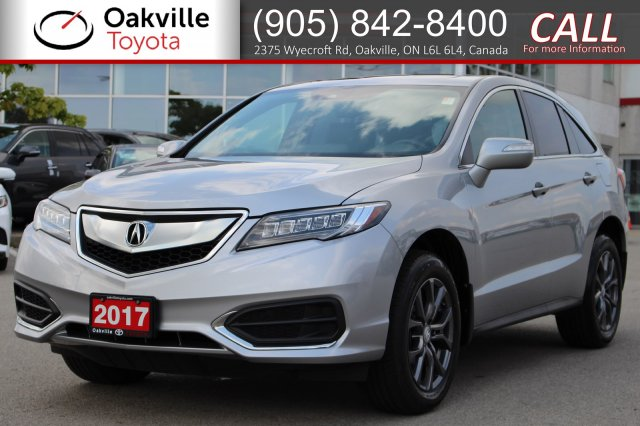 Pre-Owned 2017 Acura RDX Tech Package AWD with Clean Carfax and One Owner