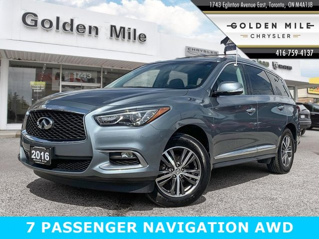 Pre-Owned 2016 INFINITI QX60 NAVIGATION AWD 7 PASSENGER