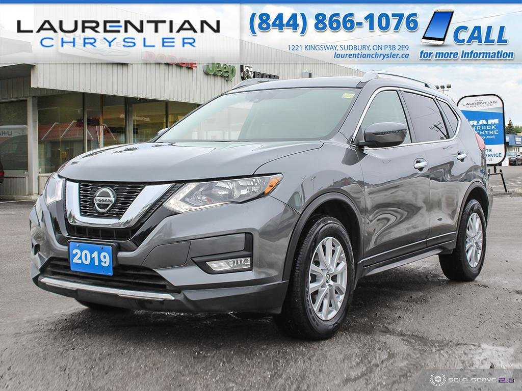 Pre-Owned 2019 Nissan Rogue SV - HEATED SEATS! AWD! BACKUP CAMERA!