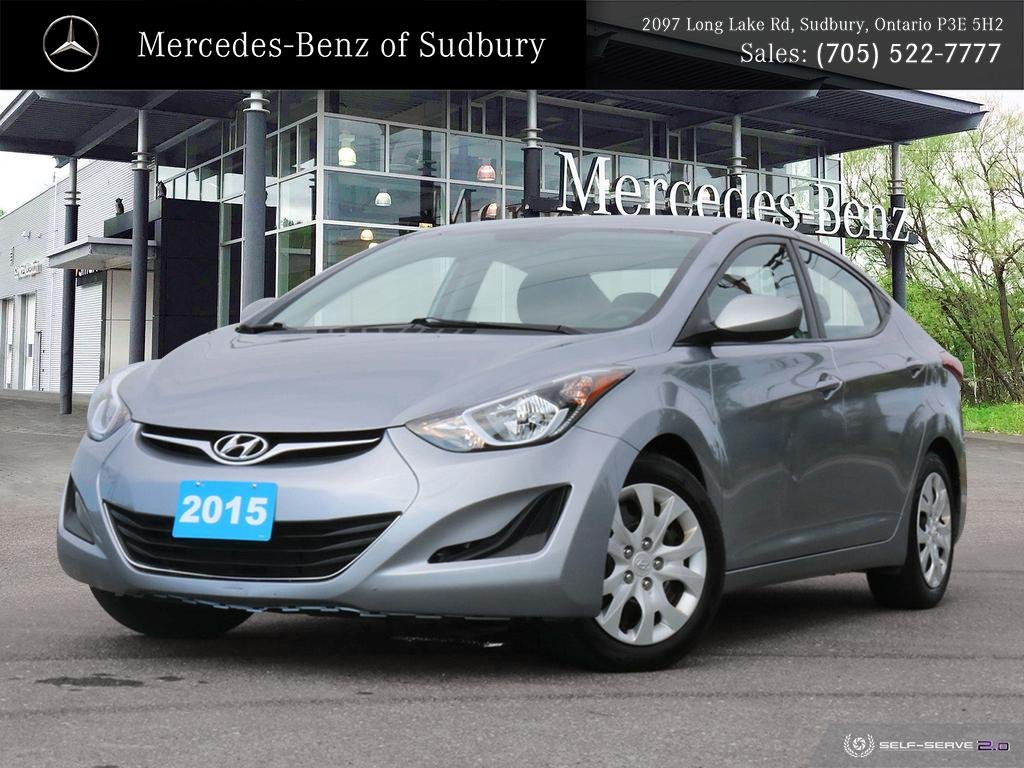 Pre-Owned 2015 Hyundai Elantra GL - ONLY 48,515 KMS - FULLY CERTIFIED - PERFECT STUDENT VEHICLE