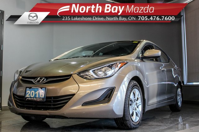 Pre-Owned 2016 Hyundai Elantra L Manual with Cruise and Clean CarProof