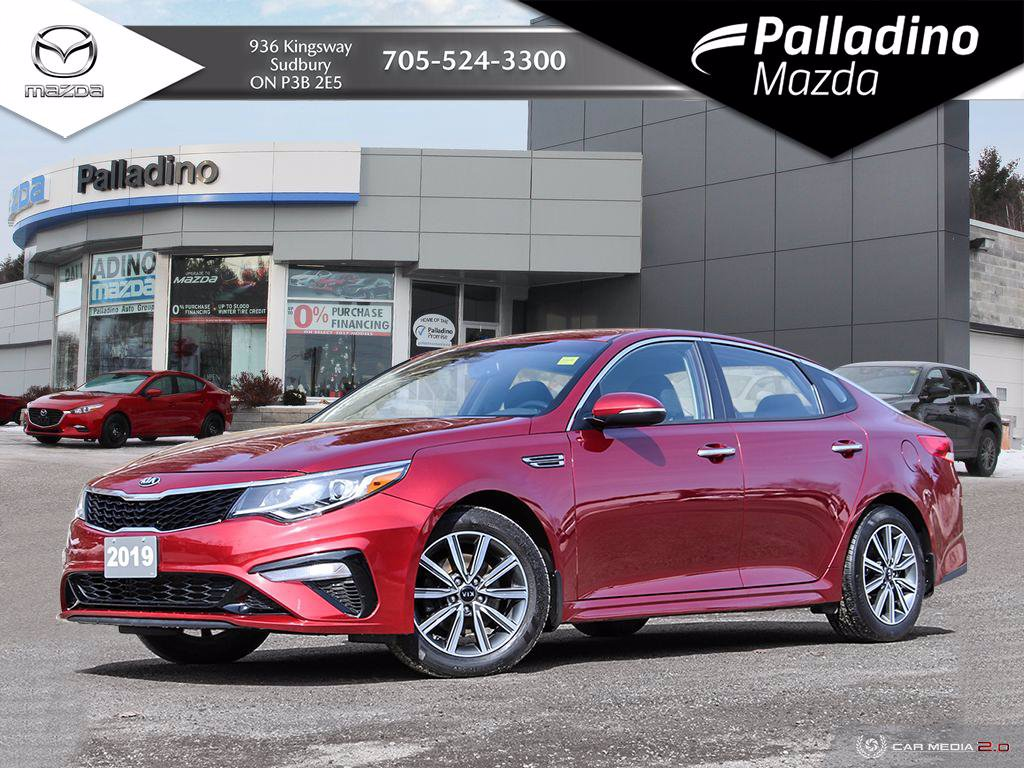 Pre-Owned 2019 Kia Optima LX+ - SPORTY SEDAN - $73 WEEKLY OAC.
