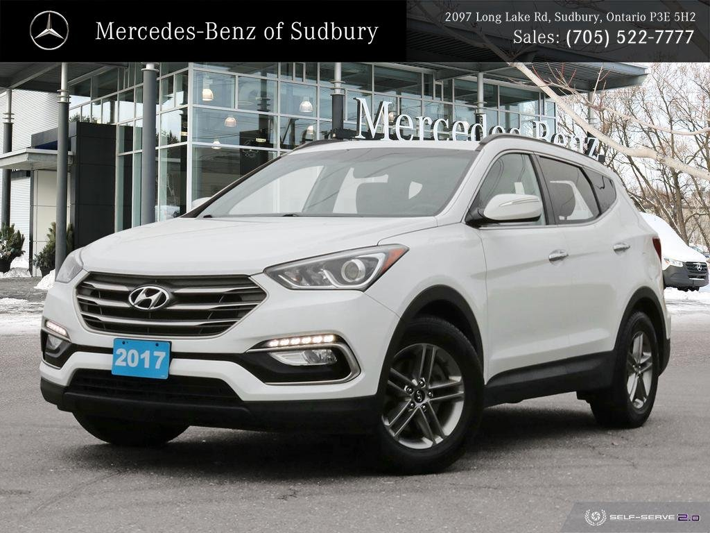 Pre-Owned 2017 Hyundai Santa Fe Sport 2.4 Luxury - AWD - UNDER $22,000 - FINANCING AVAILABLE