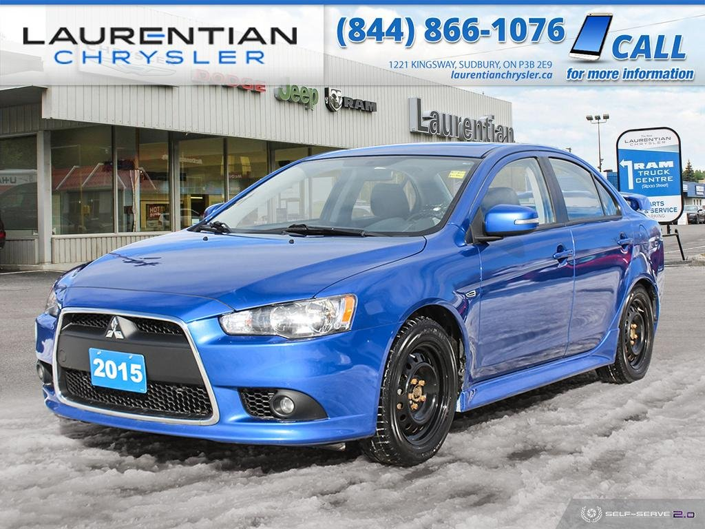 Pre-Owned 2015 Mitsubishi Lancer !! HEATED SEATS !! BLUETOOTH!!