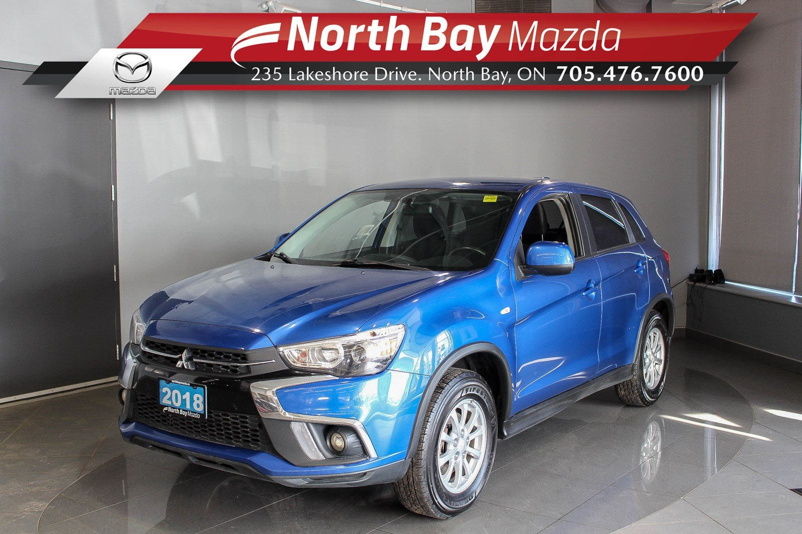 Pre-Owned 2018 Mitsubishi RVR SE AWD with Bluetooth, Heated Seats, Cruise